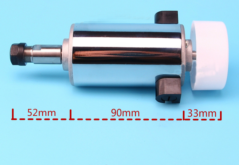 300w high speed air cooled pcb electric spindle motor dc for High speed spindle motors