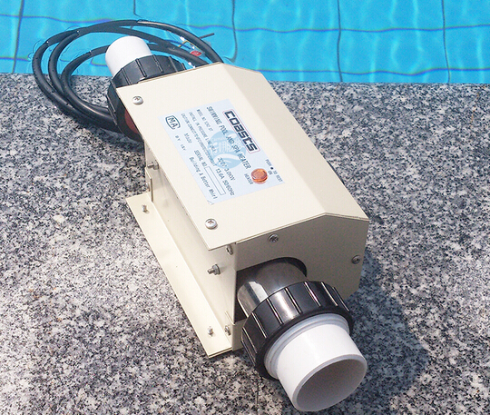 220v Swimming Pool And Spa Heater Electric Heating Thermostat 2kw Ebay