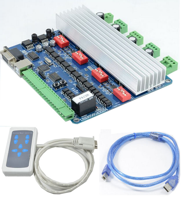 4 axis usb tb6560 2 phase stepper motor driver board 4 axis stepper motor controller