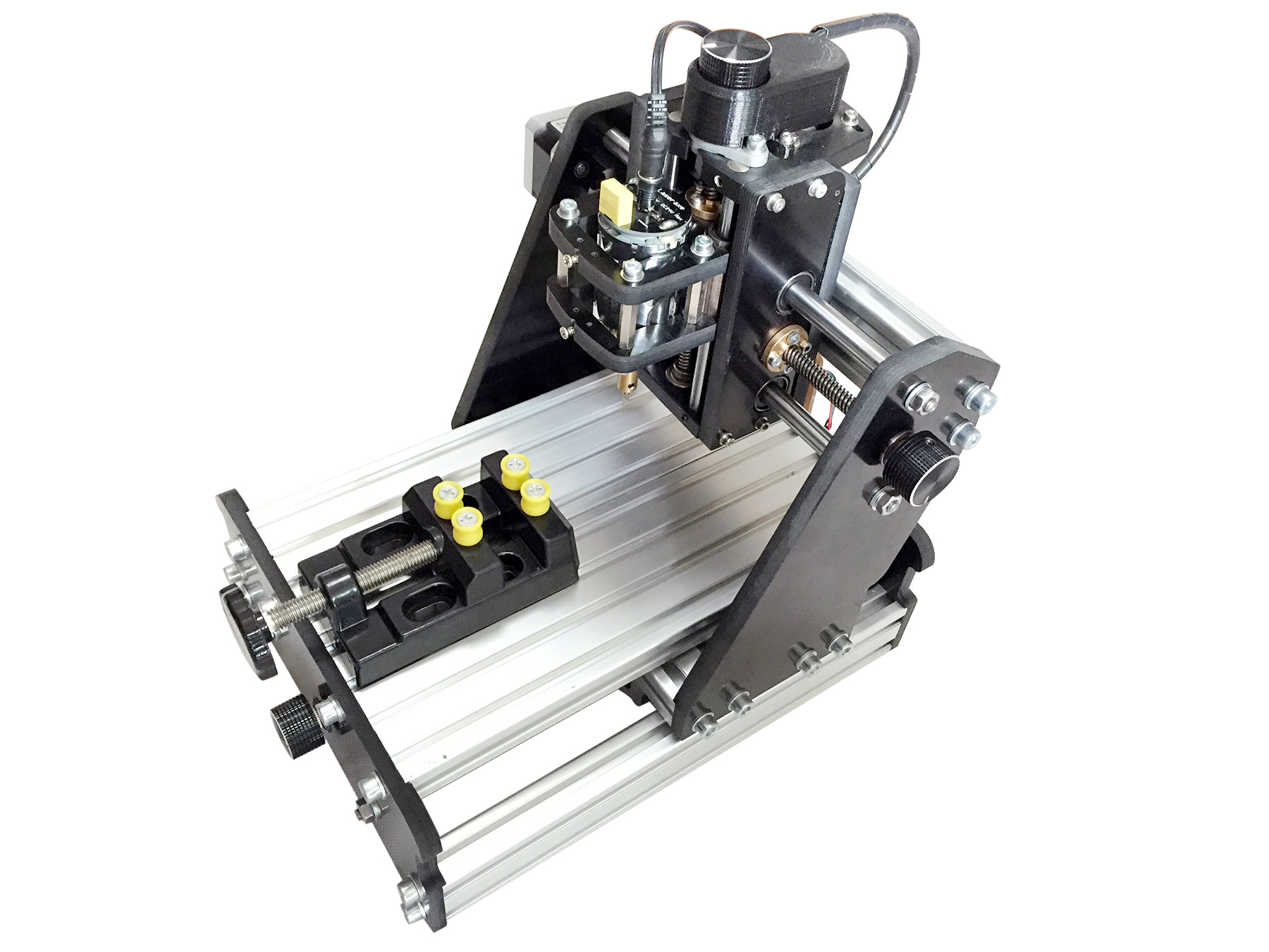 Cnc Mini Milling Engraving Machine 3 Axis Carving Desktop