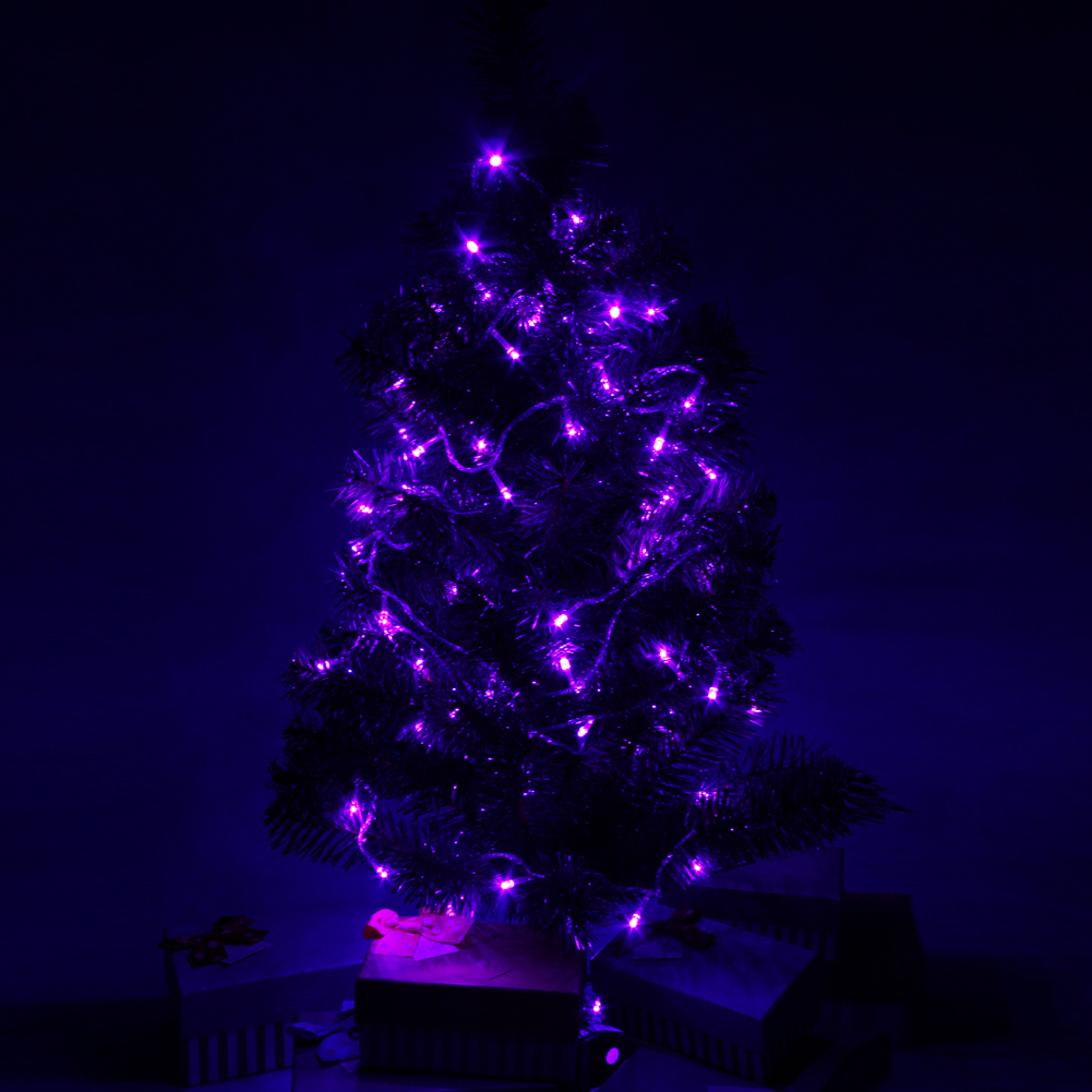 Purple Fairy String Lights : 10X Purple 10M 100 LED String Fairy Lights Lamp FOR Christmas Tree Party Wedding eBay