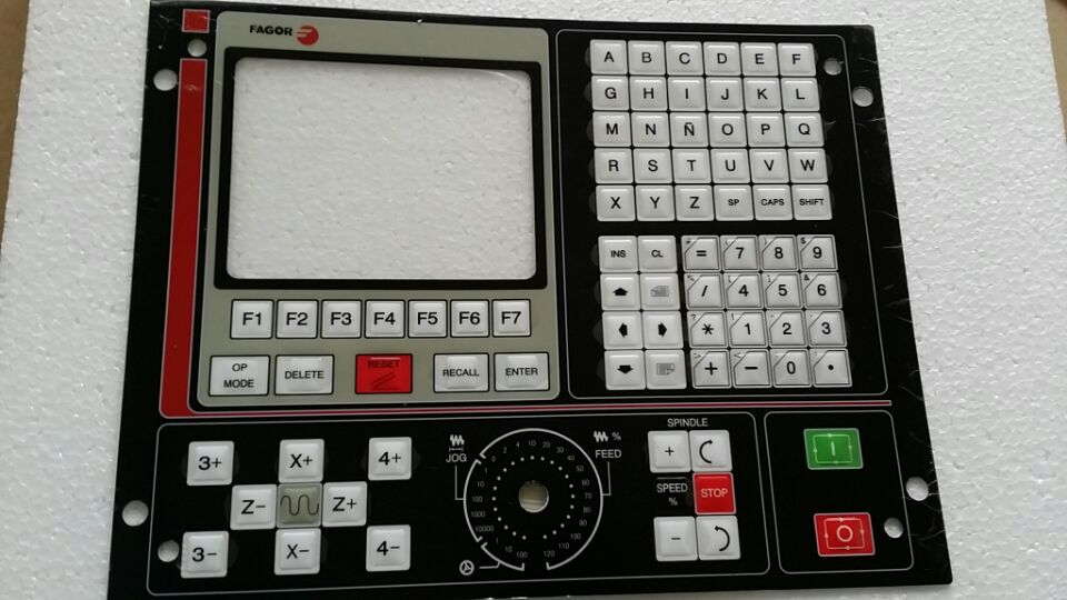 New Fagor Membrane Keypad 8025T Industrial CNC Communication Board Controller