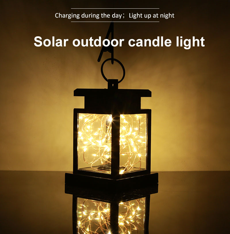 Details About 1 10 Pack Led Hanging Solar Lantern Lamp Indoor Outdoor Decor Fairy String Light