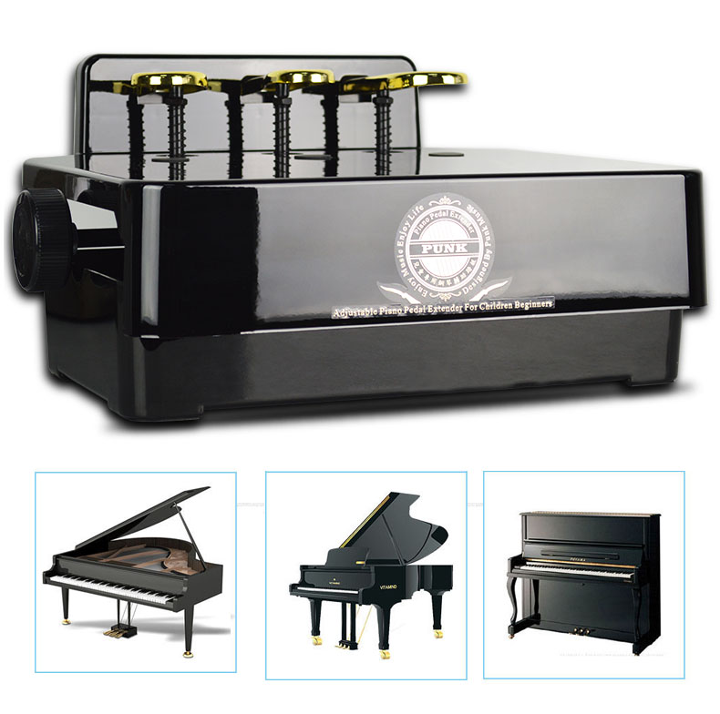 The piano pedal extender fits all makes of pianos (grand, upright, console, spinet, Steinway, Wurlitzer, Yamaha, Kawai, Baldwin, and Kimball, ...