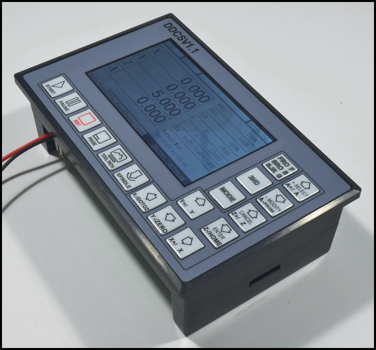 Ddcsv1 4axis Control System G Code Engraving Machine Controller Motor Cnc Driver 8571864104774 Ebay